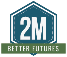 2 Million Better Futures logo