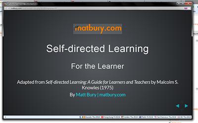 Presentation module